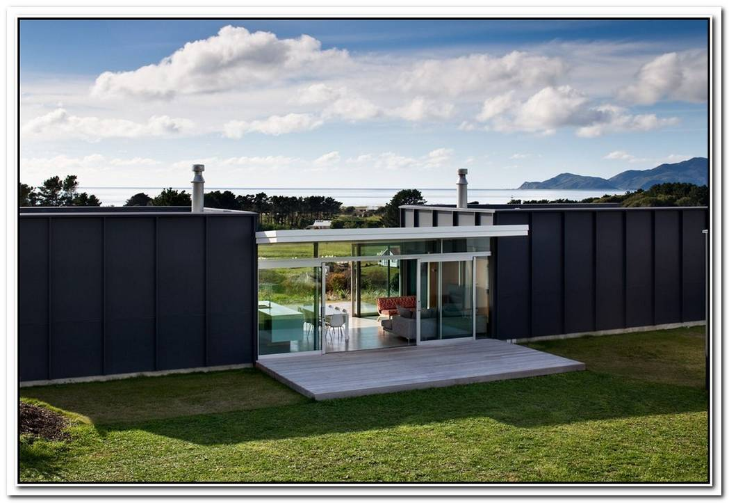 Modular Holiday Home On Pekapeka Beach New Zealand