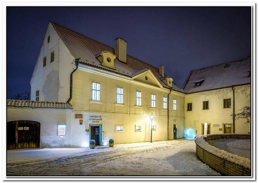 Monastery Converted Into Hotel In Prague