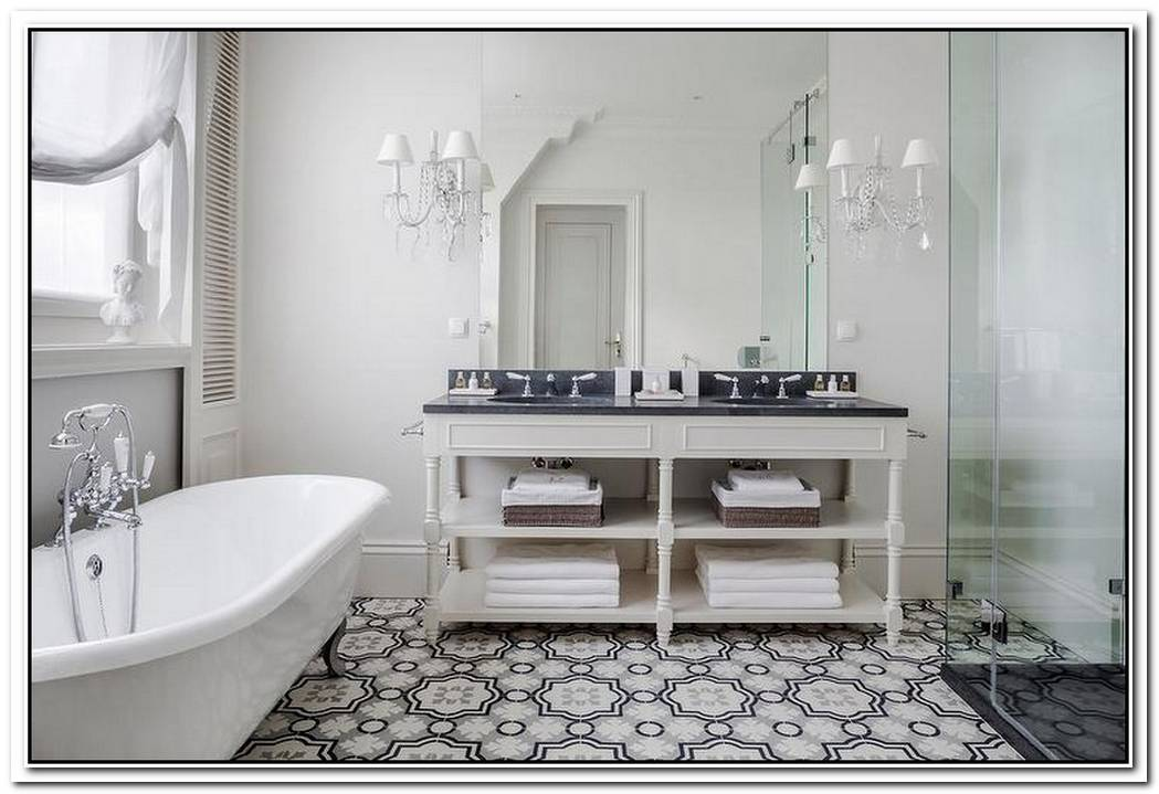 Moroccan Bathroom Floor Tile