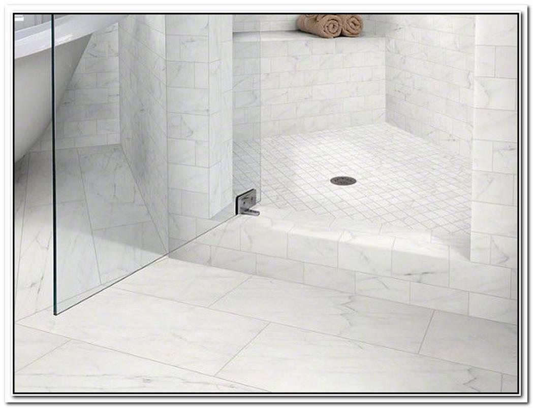 Mosaic Bathroom Modern Calacatta