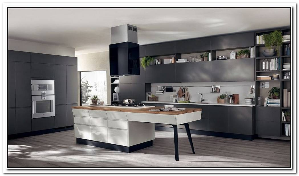MotusAdaptable Kitchen Compositions That Showcase Trendy Fluidity