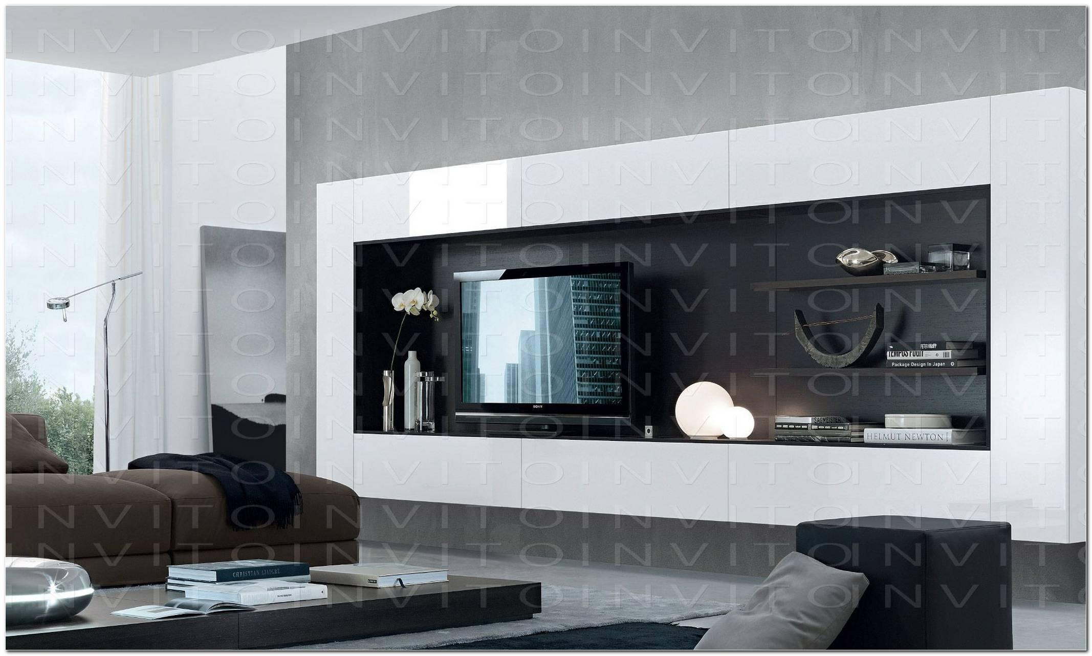 Muebles Para Sala De Tv Minimalista