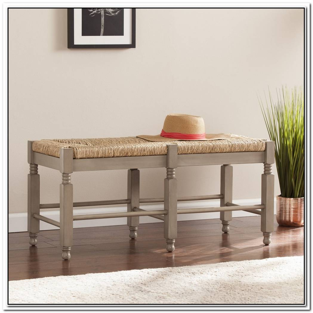 Multifunctional Seagrass Bench