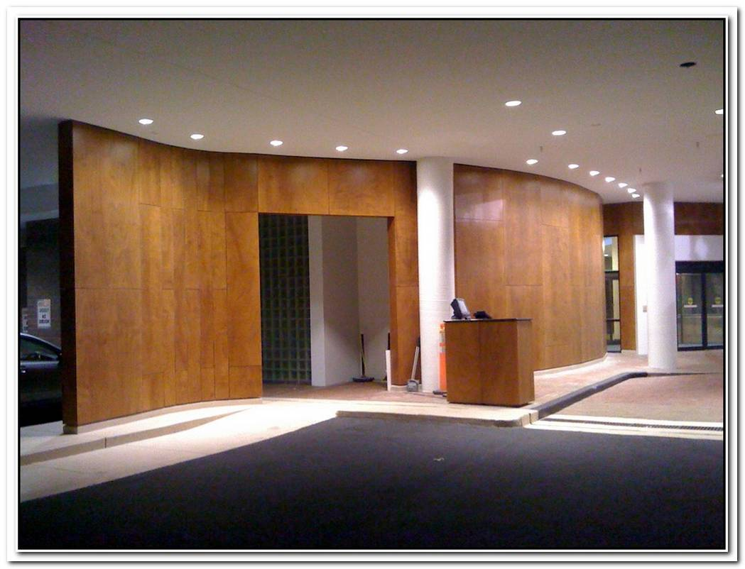 Multifunctional Wood Paneling For Walls