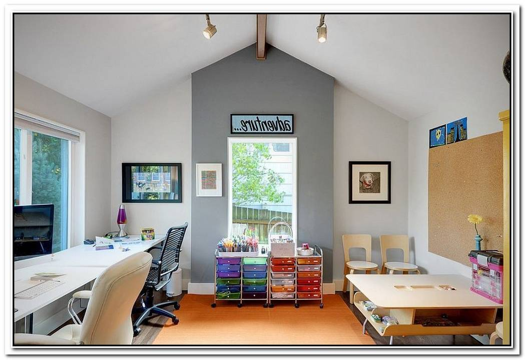Multipurpose MagicCreating A Smart Home Office And Playroom Combo