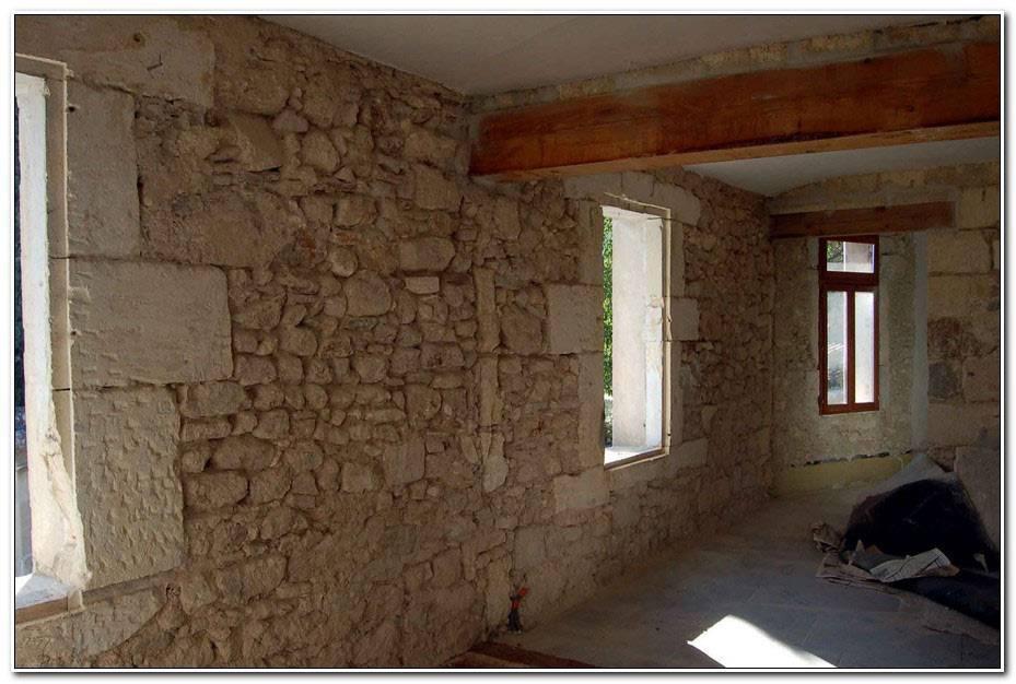 Mur Interieur En Pierre Apparente