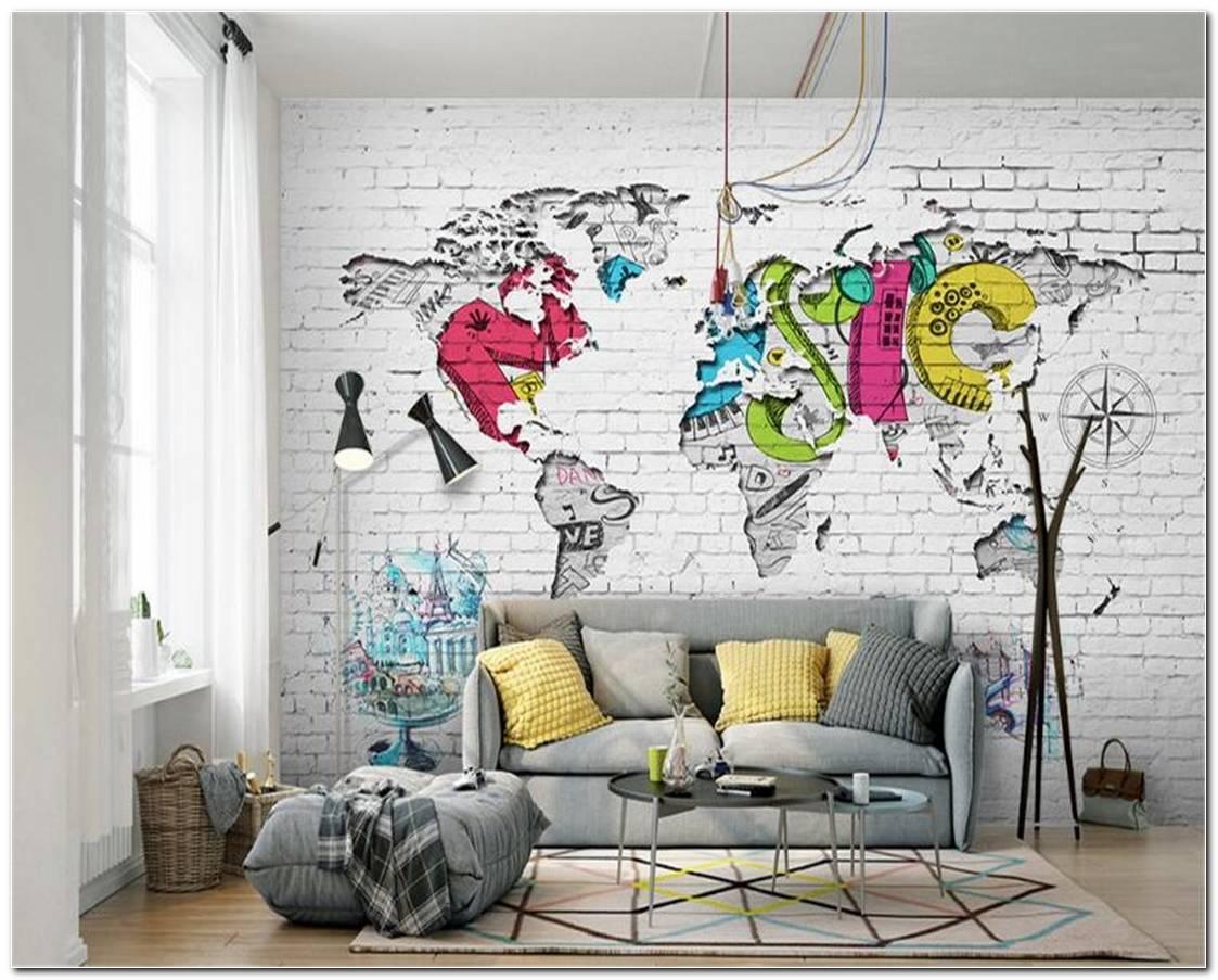 Mural De Fotos Para Sala De Estar