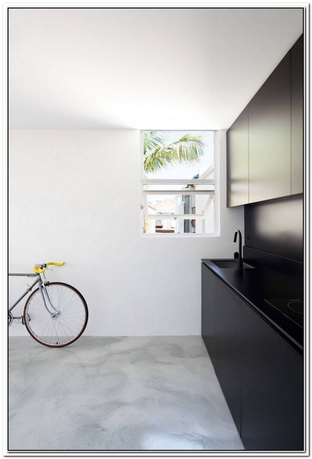 Mysterious Apartment Which Hides Secret Spaces Behind Its White Panels