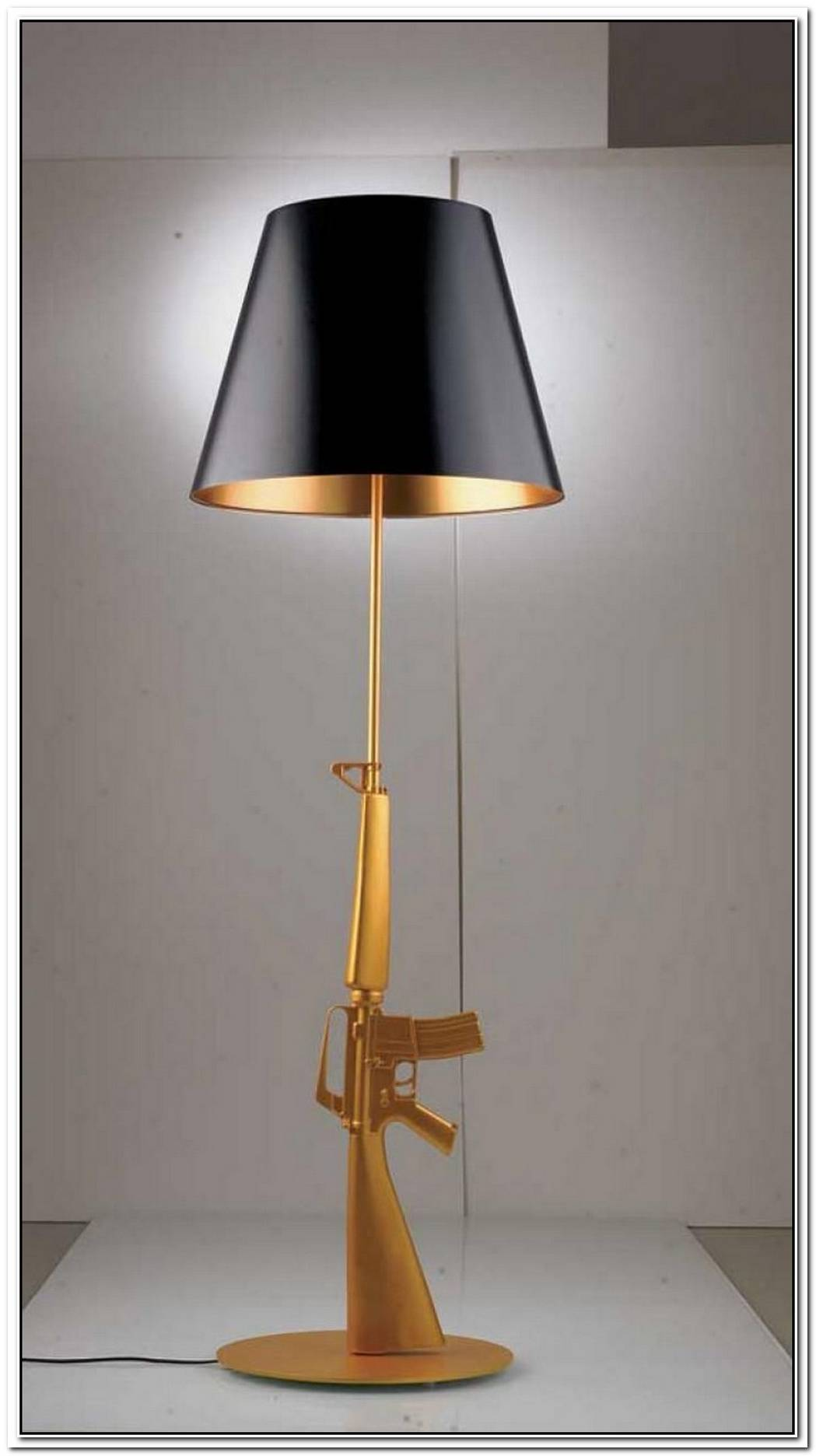 Mysterious Gun Table Lamp