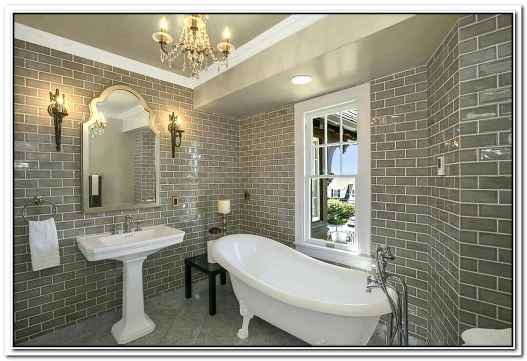 Natural Bathroom Brick