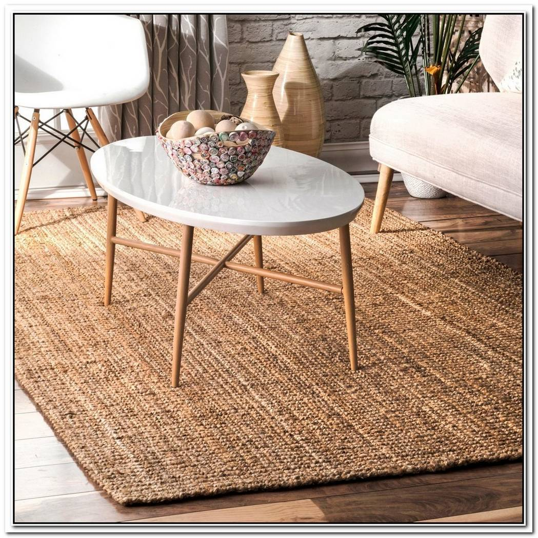 Natural Fiber Side Table