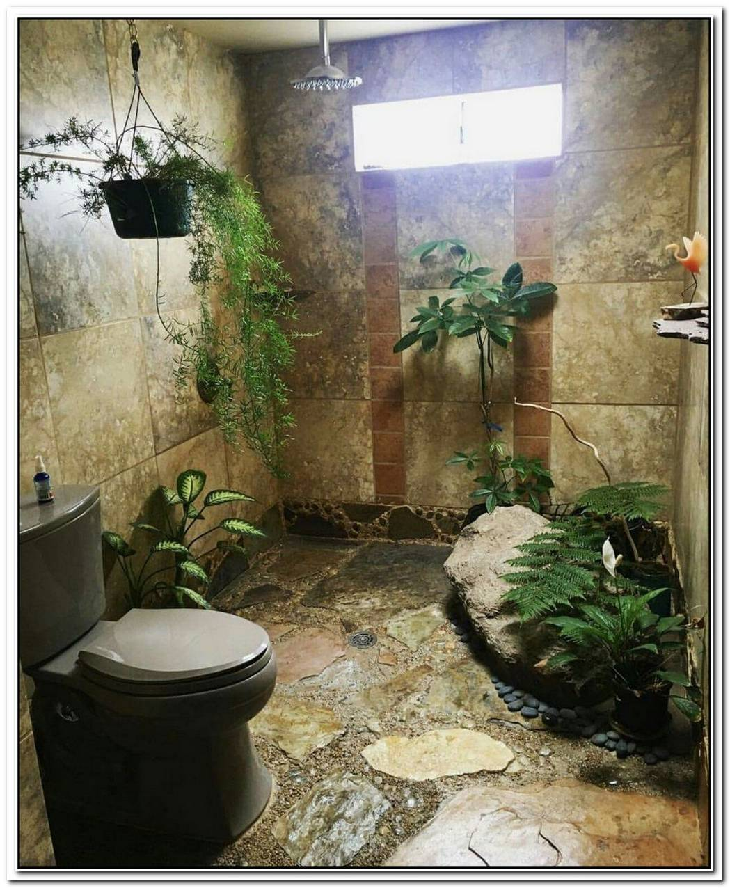 Nature Bathroom Plant