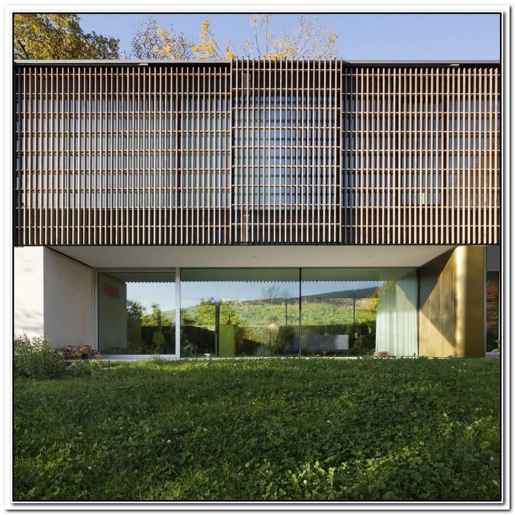 Nature Surrounded House Of Lake Biel By Bauzeit Architekten