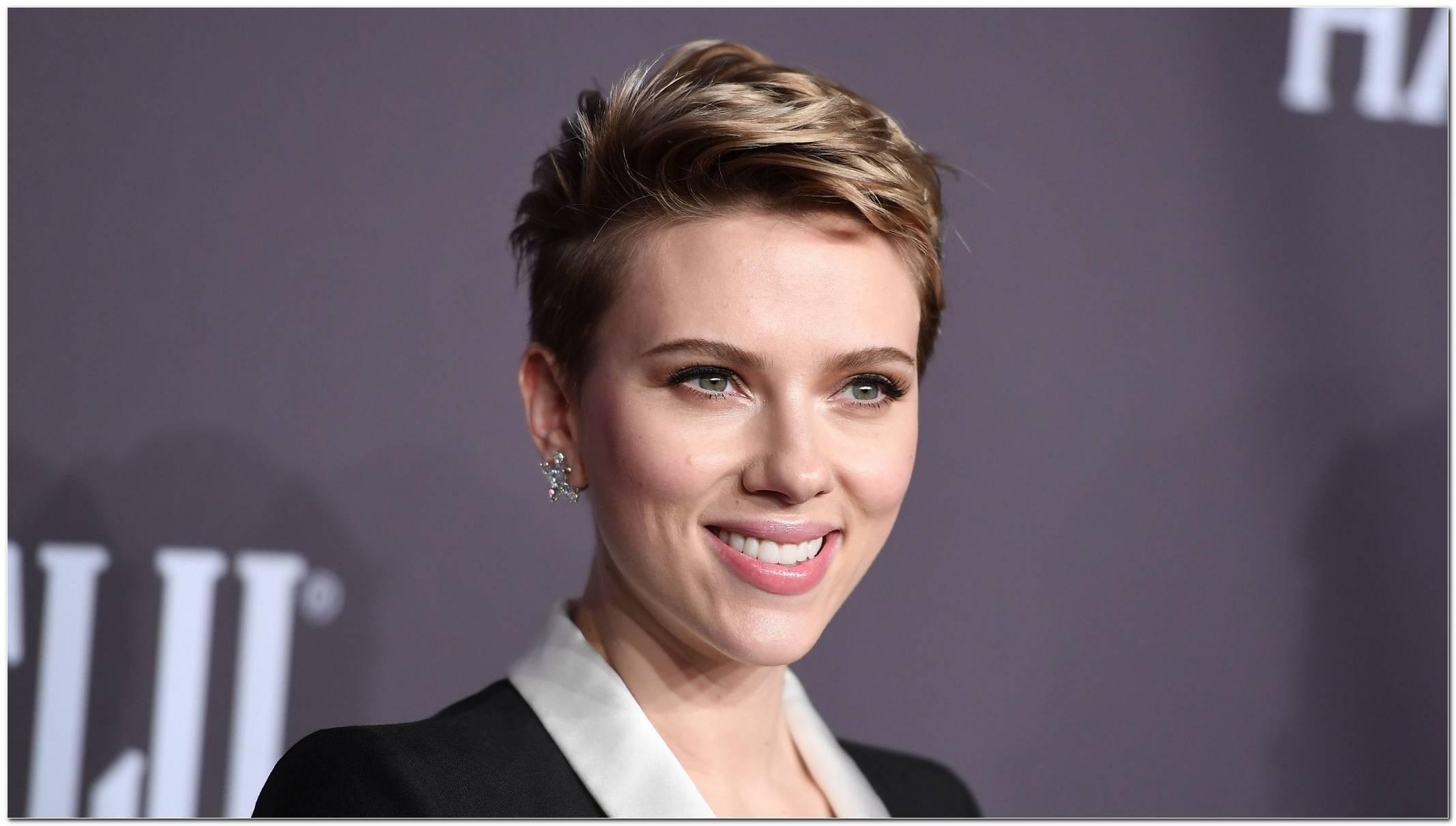 Neue Frisur Von Scarlett Johansson