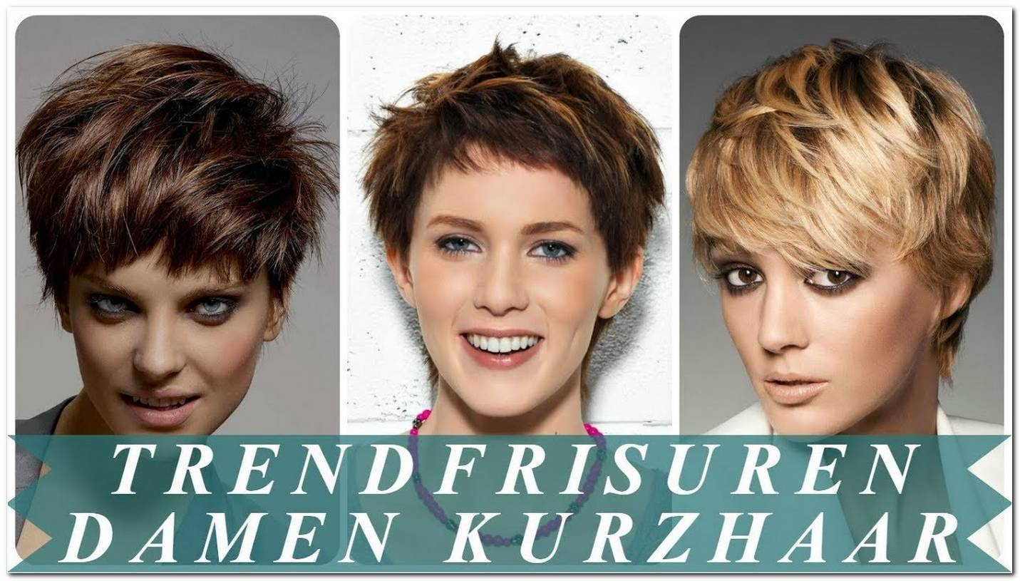 Neue Frisuren Kurzhaar Damen