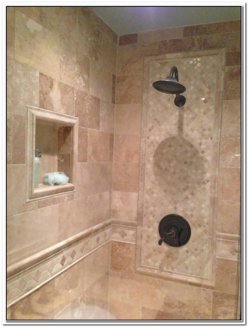 Neutral Bathroom Travertine Marble