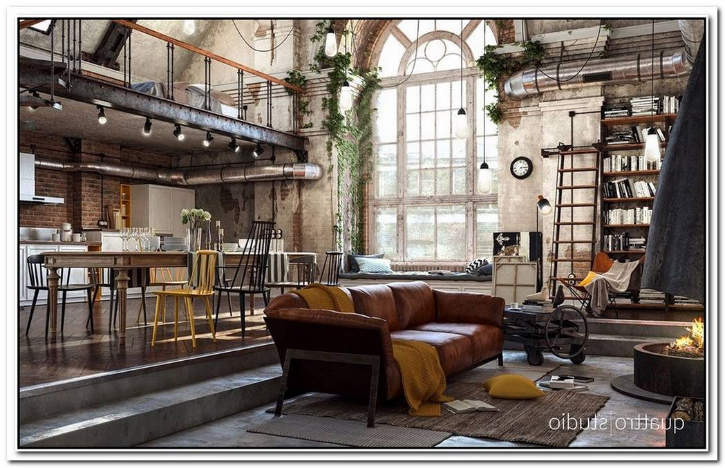 New Classic Style Loft In France