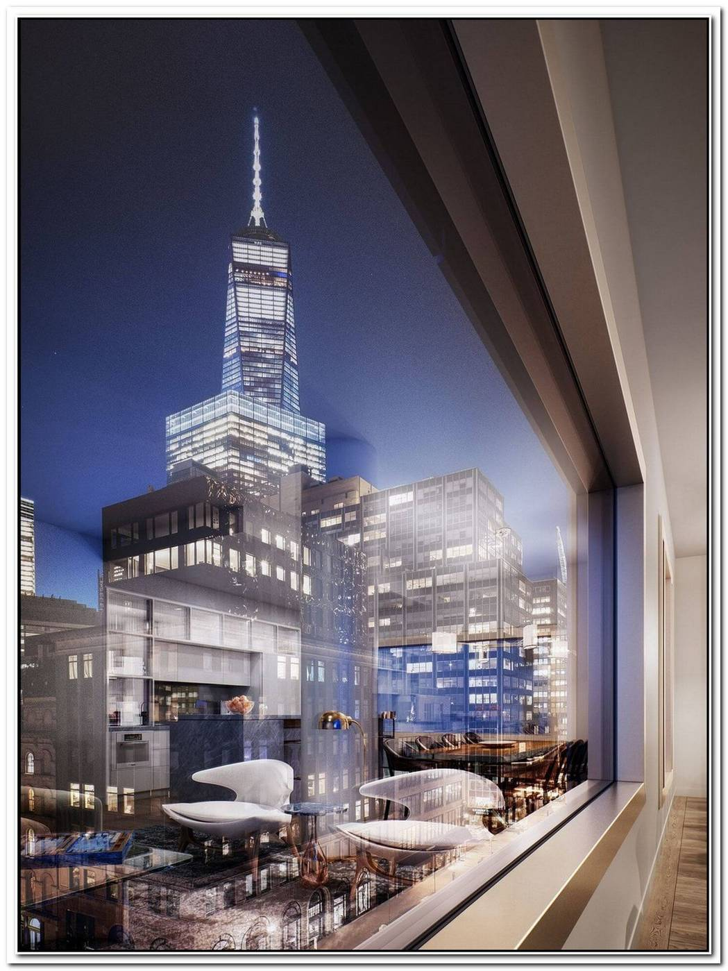New Tribeca Building Offers Dazzling Views