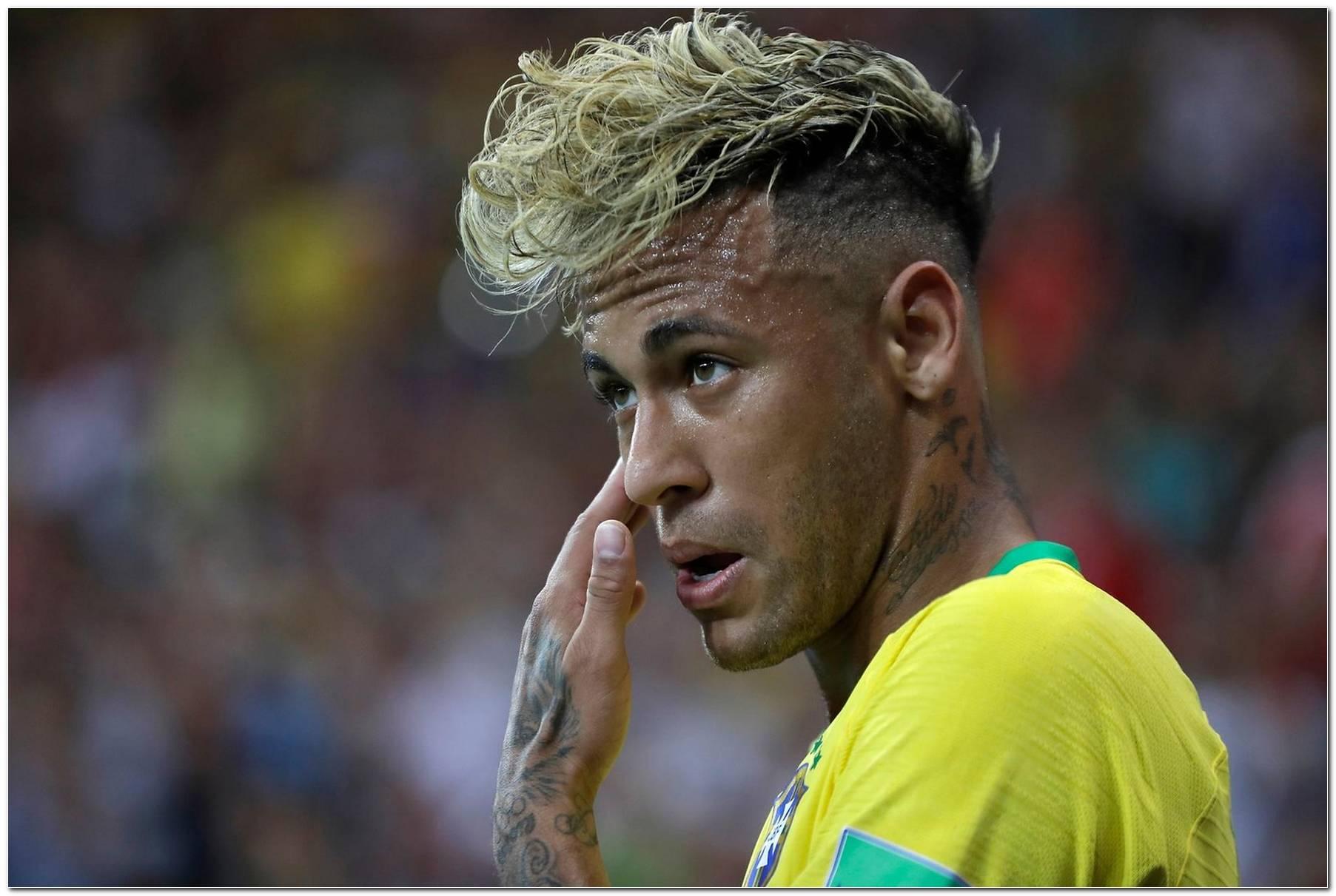 Neymar Frisur 2018 Cantona