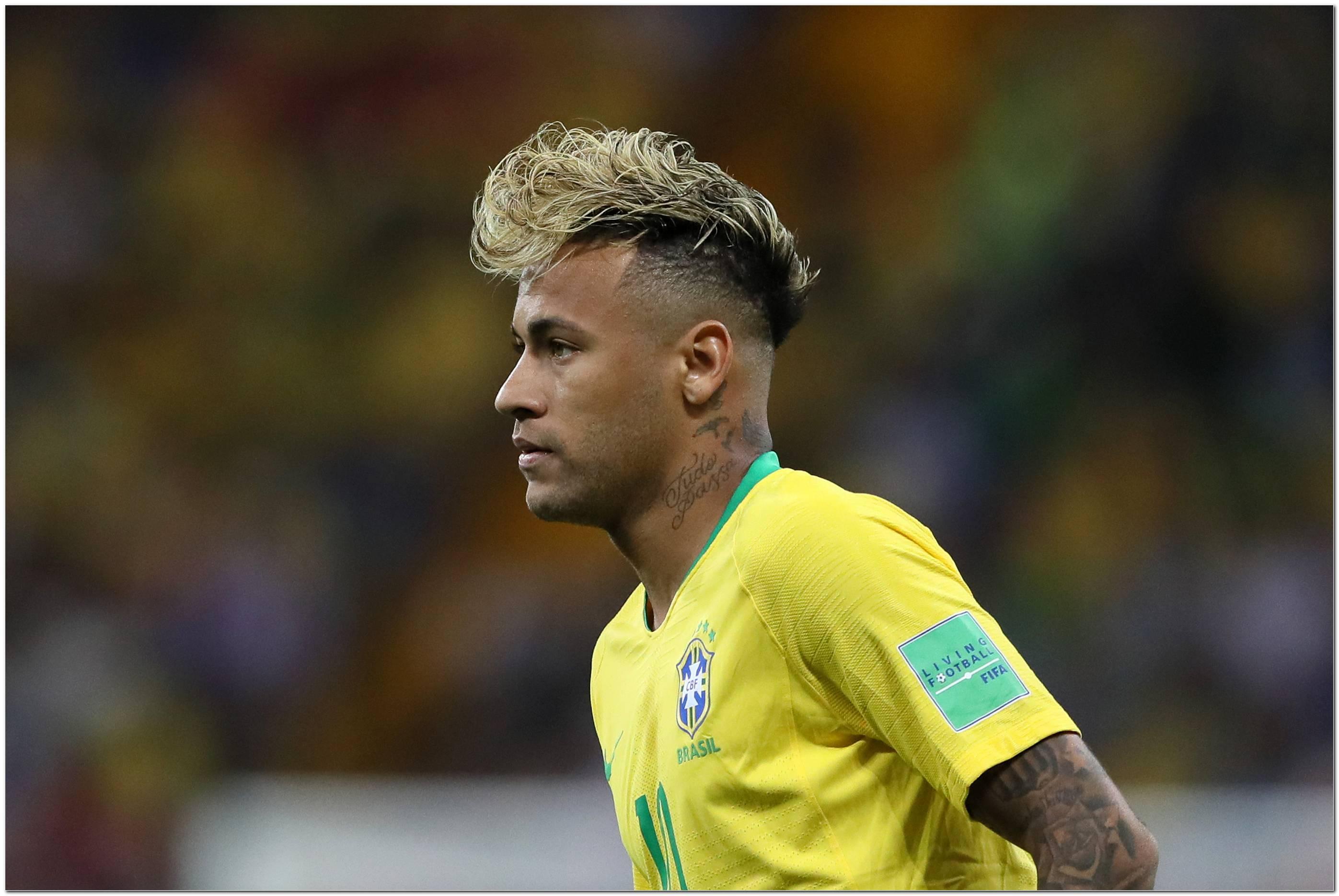 Neymar Frisur 2018 Wm