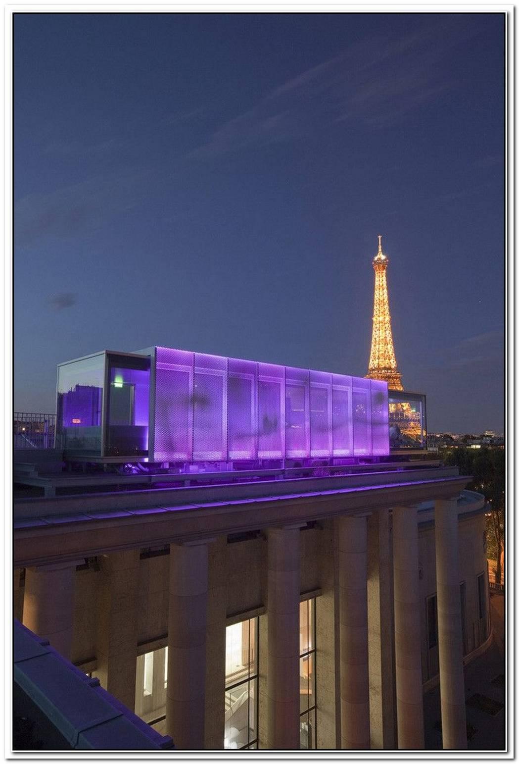 Nomiya Space Restaurant At Palais De Tokyo In Paris