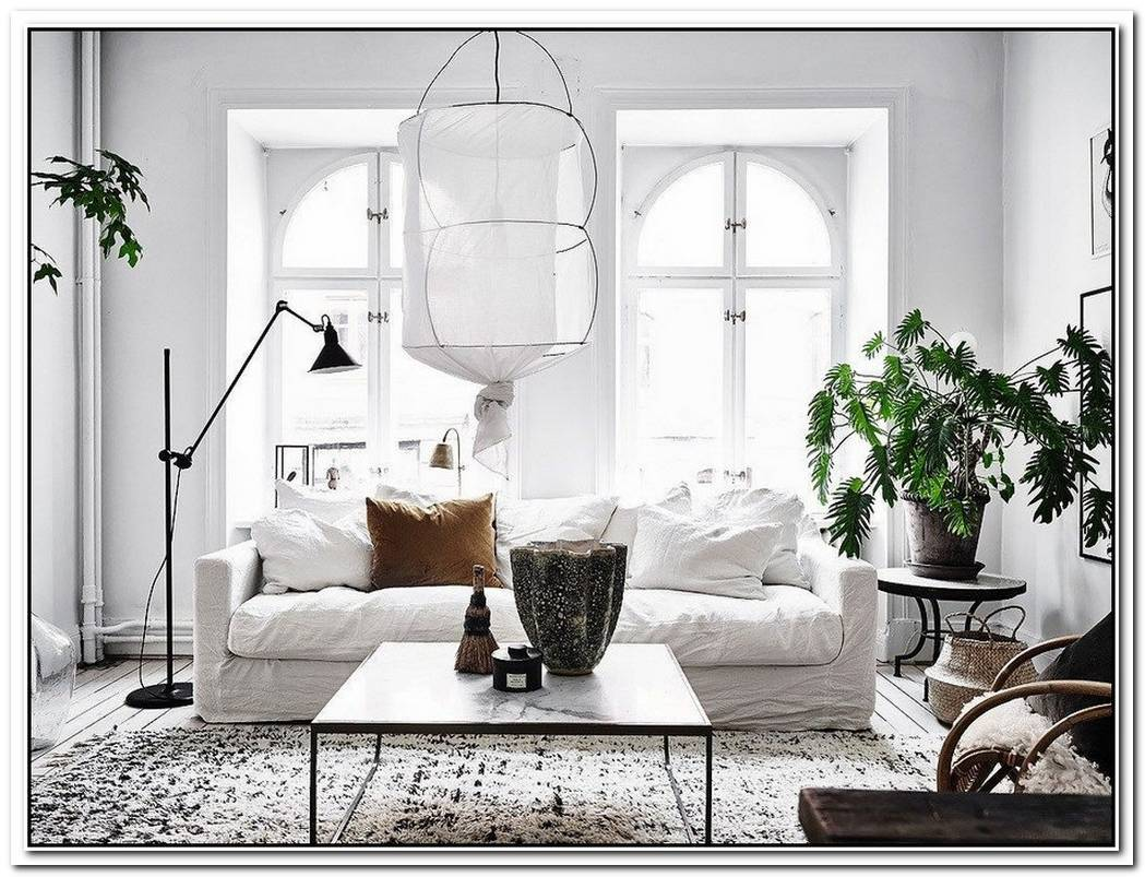 Nordic Apartment With Exotic Touches