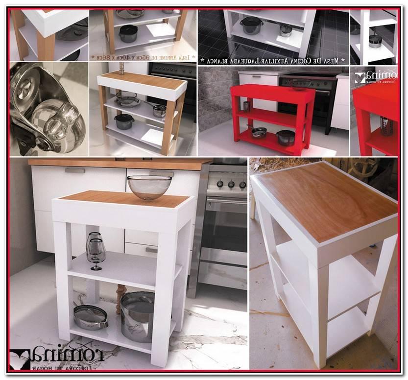 Nuevo Mesas Con Ruedas Para Cocina Fotos De Mesas Decoración