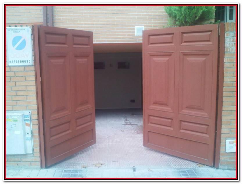 Nuevo Puerta Abatible Garaje Fotos De Puertas Idea
