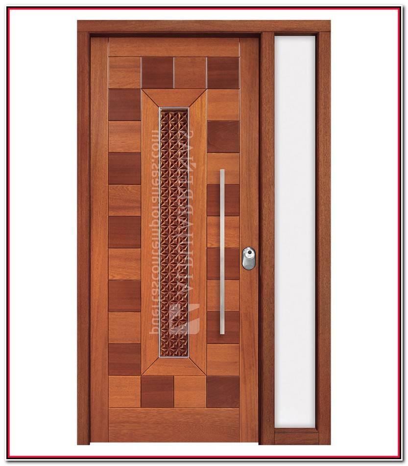 Nuevo Puerta Madera Exterior Colección De Puertas Decorativo