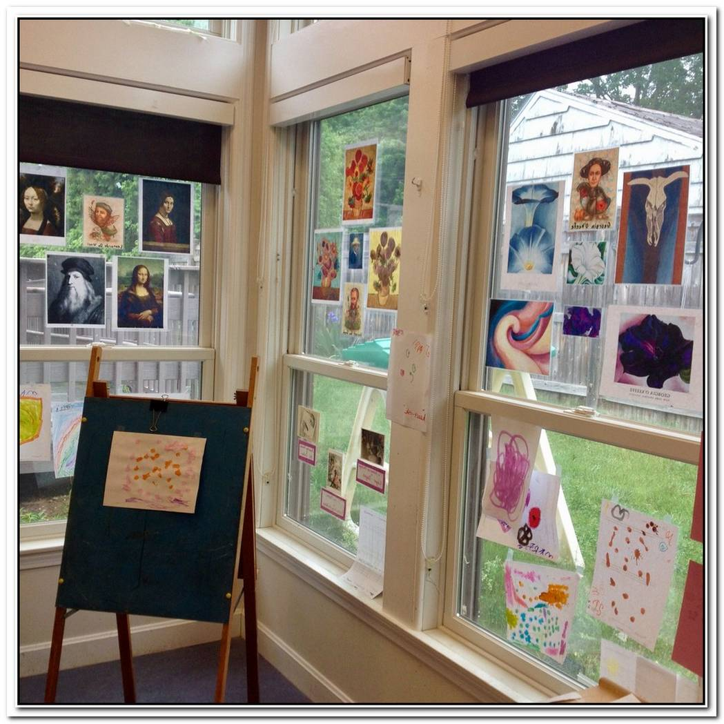 Nursery Turned Into An Art Studio