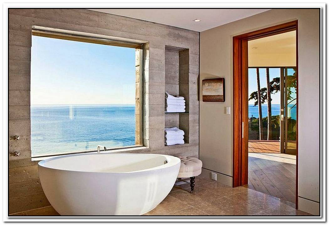 Ocean View Bathroom Beach