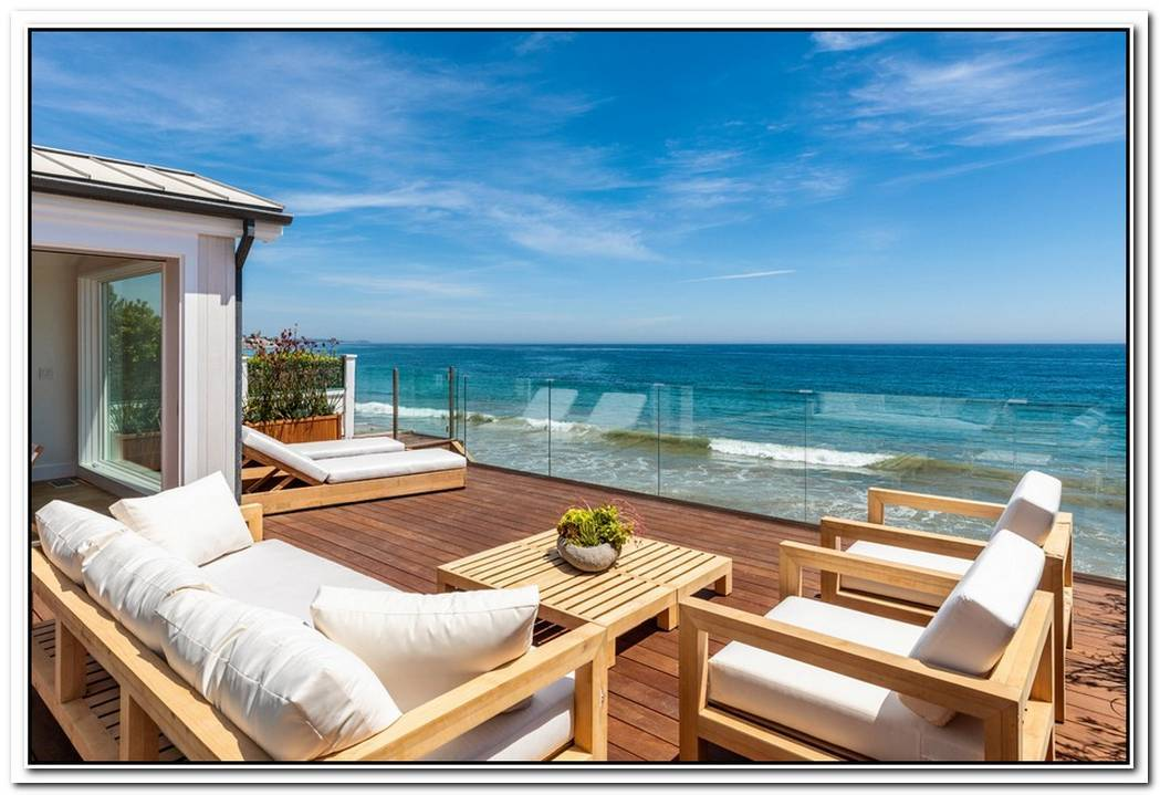 Ocean View Contemporary In Malibu Colony