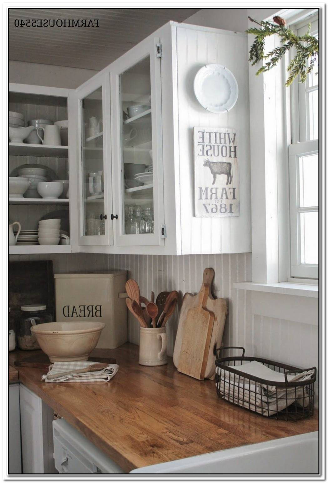 Old Farmhouse With A Mix Of Vintage And Cutting Edge
