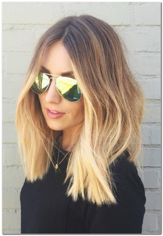 Ombre Frisur Blond
