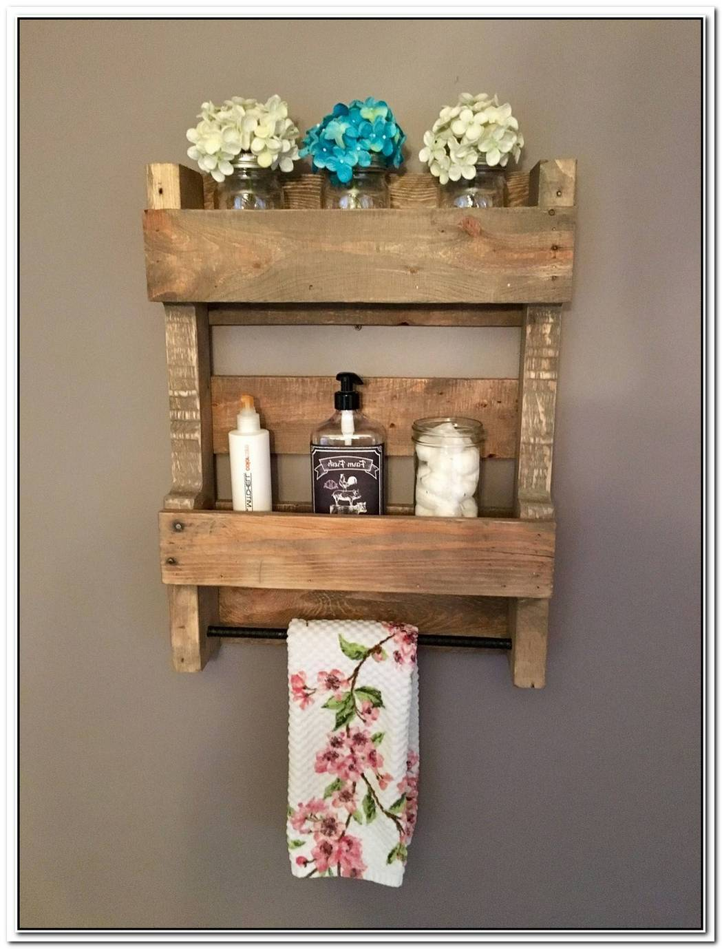 Organizer Bathroom Wood