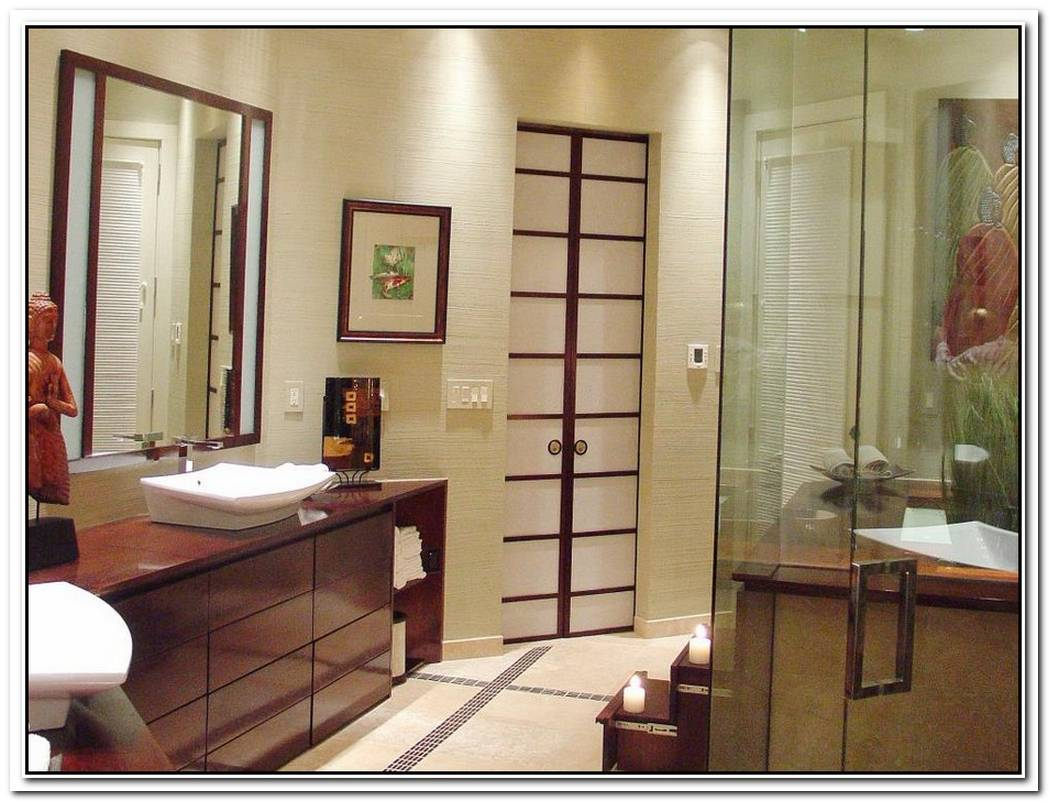 Oriental Design Bathroom Modern
