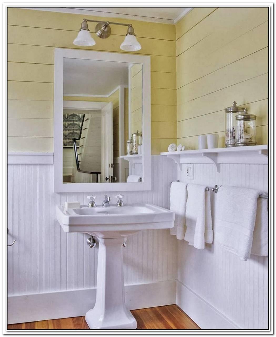 Original Vintage Bathroom Wainscoting