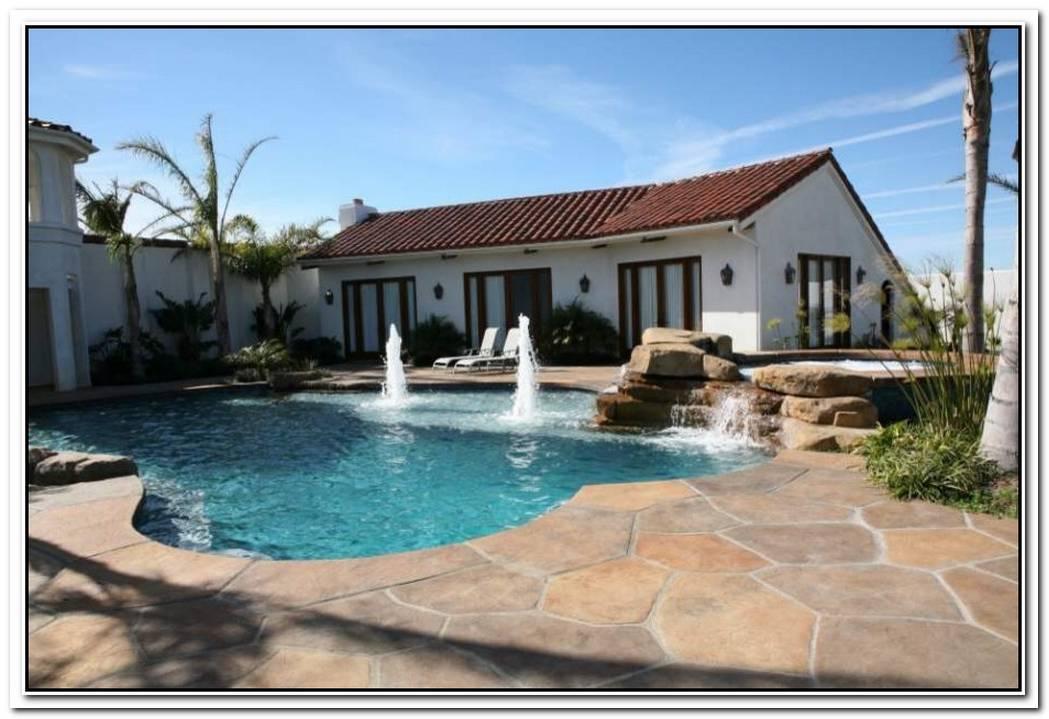 Outdoor Design Trend23 Fabulous Concrete Pool Deck Ideas