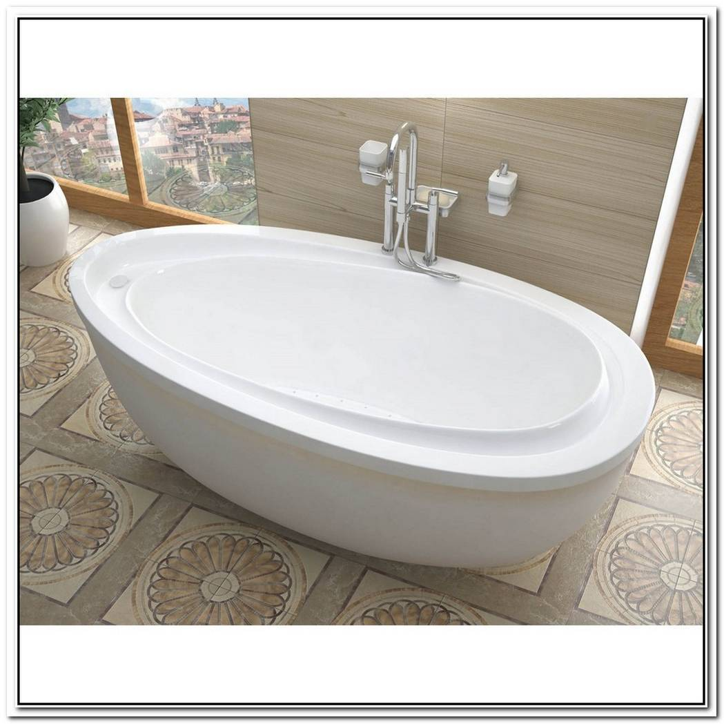 Oval Free Standing Bathtub