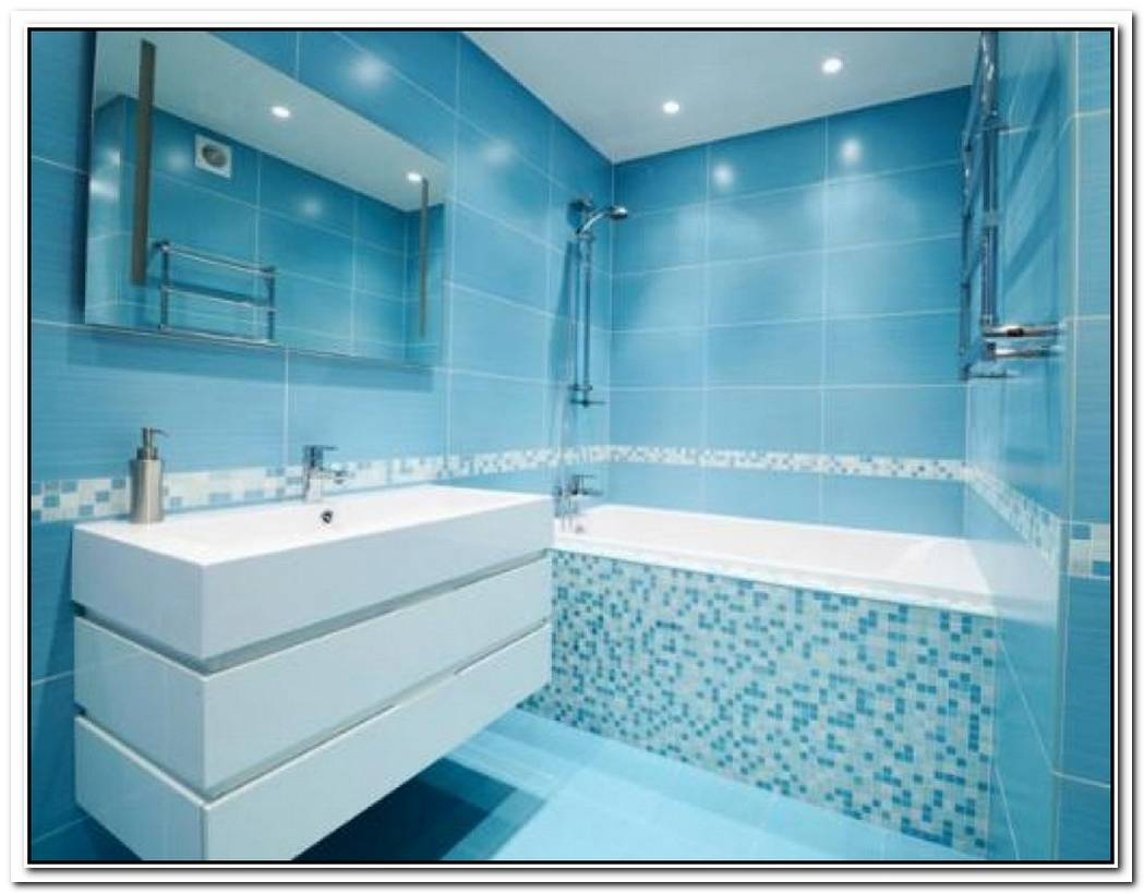 Paint Colors Bathroom Modern Light Blue