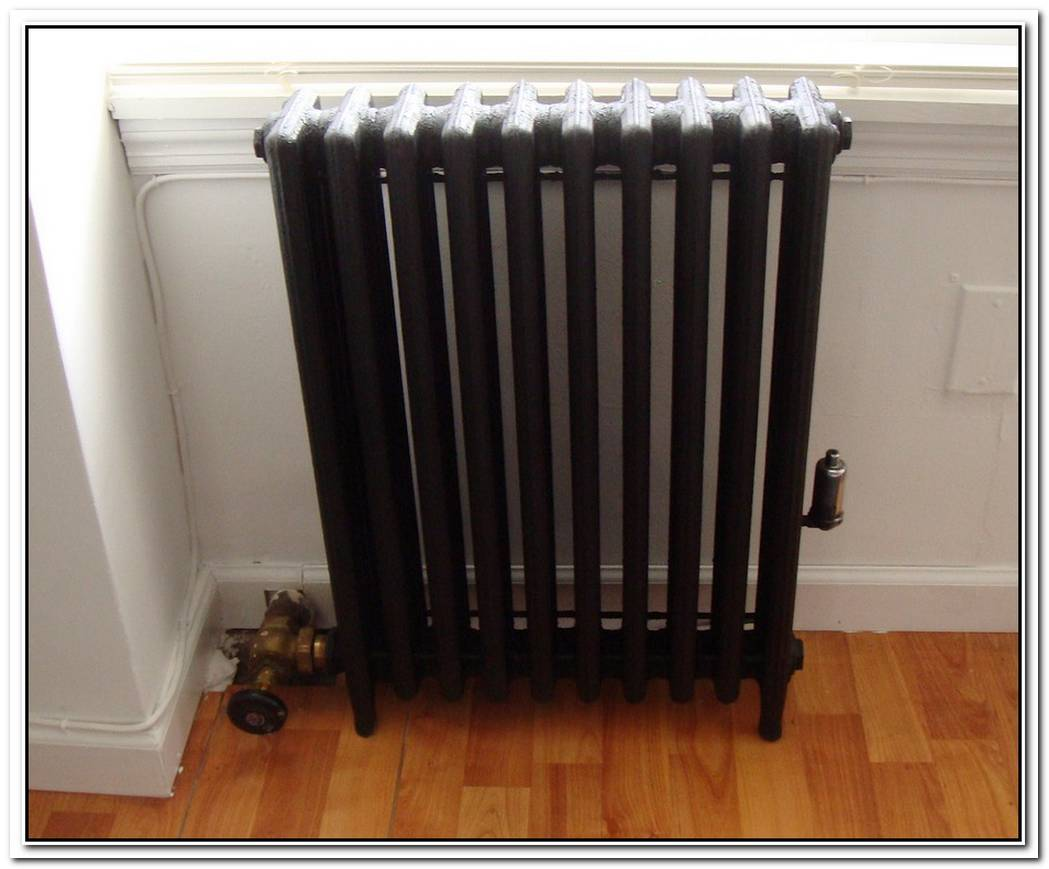 Paint The Old Radiator