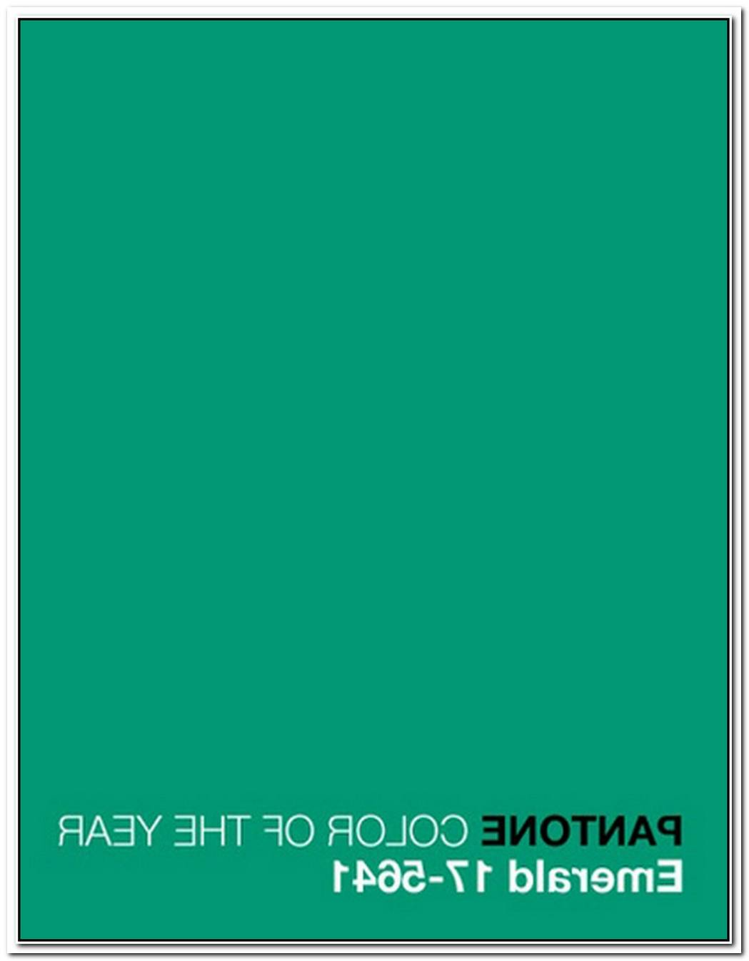 Pantone Announces Emerald As Color Of The Year In 2013