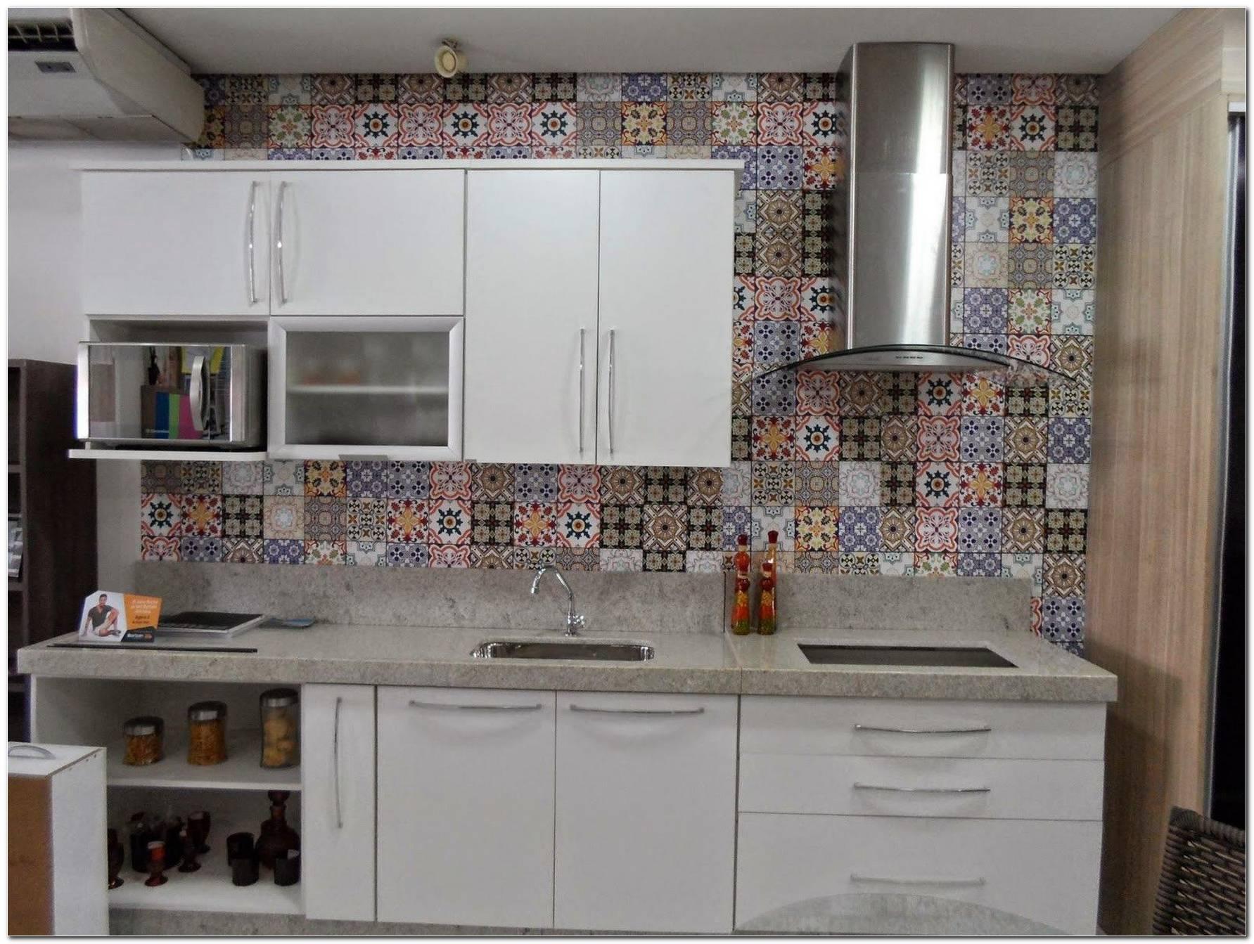 Papel De Parede Para Cozinha Lavável 40 Dicas