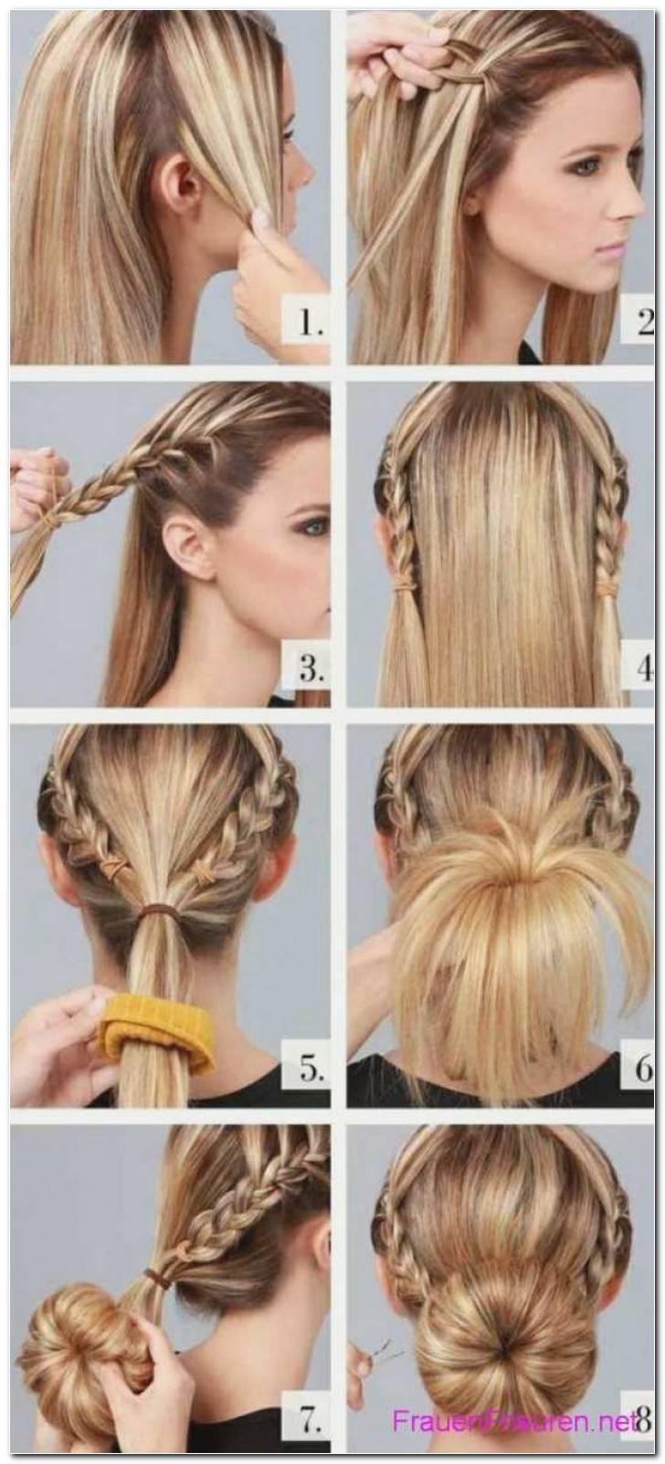 Party Frisuren Selber Machen Mittellange Haare