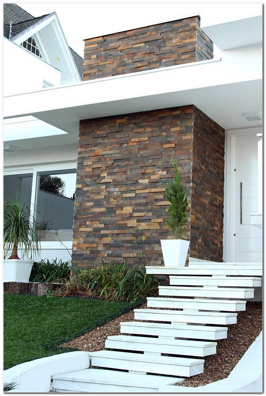 Pedras Decorativas Ideias Para Fachadas E Paredes
