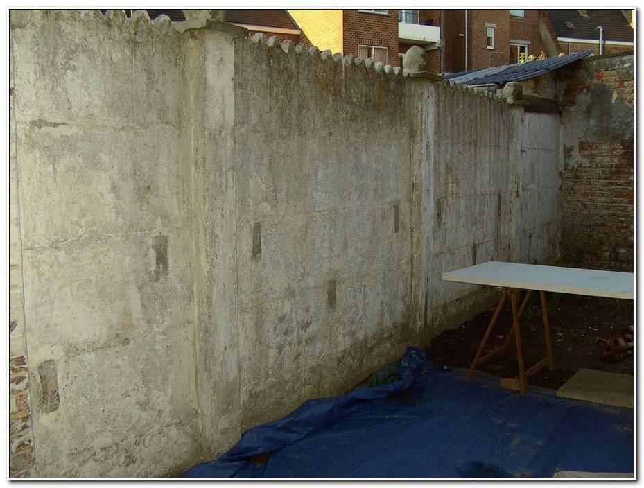 Peindre Mur En Beton