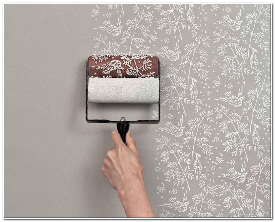Peindre Papier Peint Relief