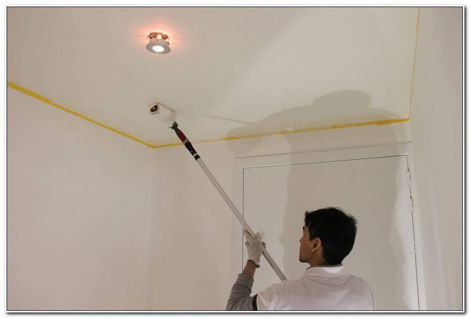 Peindre Plafond Sans Trace