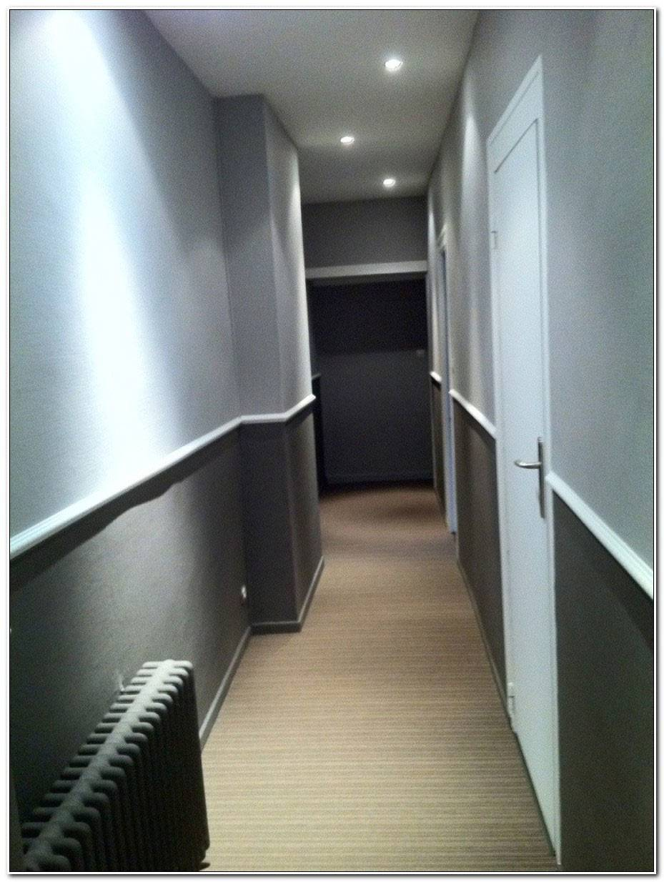 Peindre Un Couloir En Gris Et Blanc