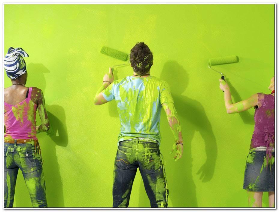 Peindre Un Mur Deja Peint
